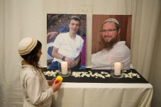 Sarah Litman and Ariel Biegel Wedding 26.11.15 Litman's father, Rabbi Yaakov Litman, and her brother, 18-year-old Netanel, were killed 2 weeks earlier, on November 13, when Palestinian terrorists opened fire on their vehicle as they were traveling near Otniel. Photo Credit: By Hadas Parush/Flash 90 (POOL) on November 26, 2015
