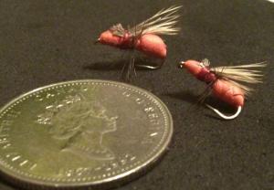 red flying ant pattern foam elk hair trout fishing fly tying terrestrial