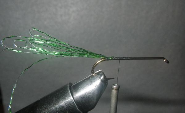 tinsel mackerel fly tying