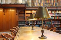 Library Desk with Lamp jigsaw puzzle in Puzzle of the Day ...
