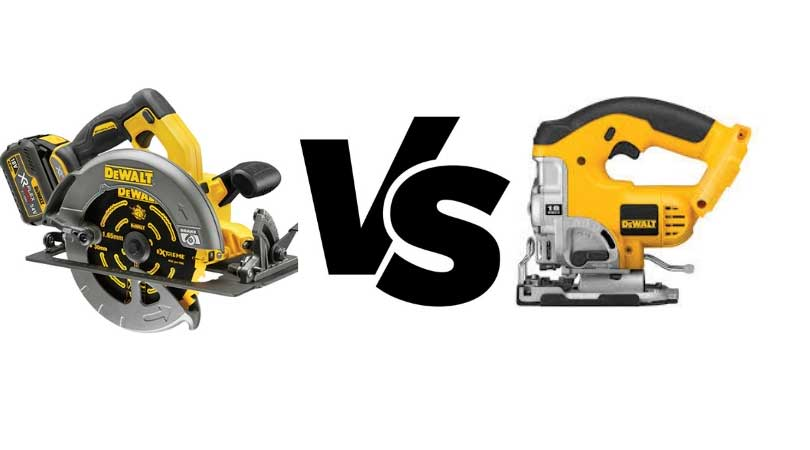 Difference between Jigsaw and Circular Saw
