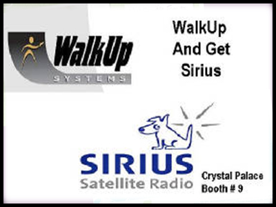 advertising image created for sirius satellite radio