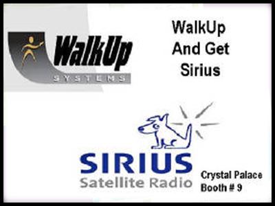 advertising image created for sirius satellite radio