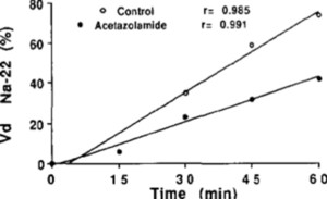 Cisterna magna microdialysis of 22Na to evaluate ion