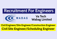 Va Tech Wabag Limited Recruiting Civil Engineer