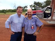 Grabbed a pic of Ray and myself before I flew him from Nyinyikay to Elcho Island