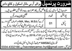 Army Model School and College Jobs