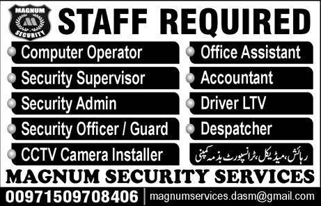 Magnum Security Services Jobs 2020
