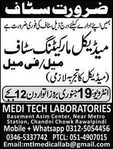 Medical Marketing Staff Jobs 2020