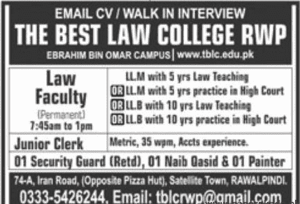 The Best Law College Jobs 2020