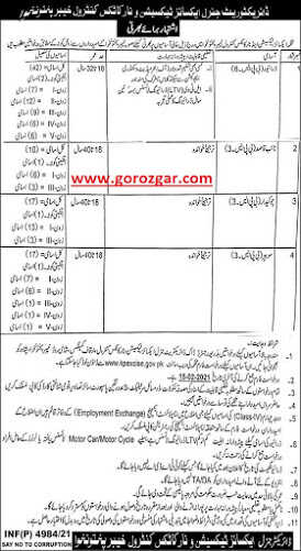 Excise and Narcotics Jobs 2021