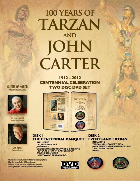Edgar Rice Burroughs Centennial DVD Ad