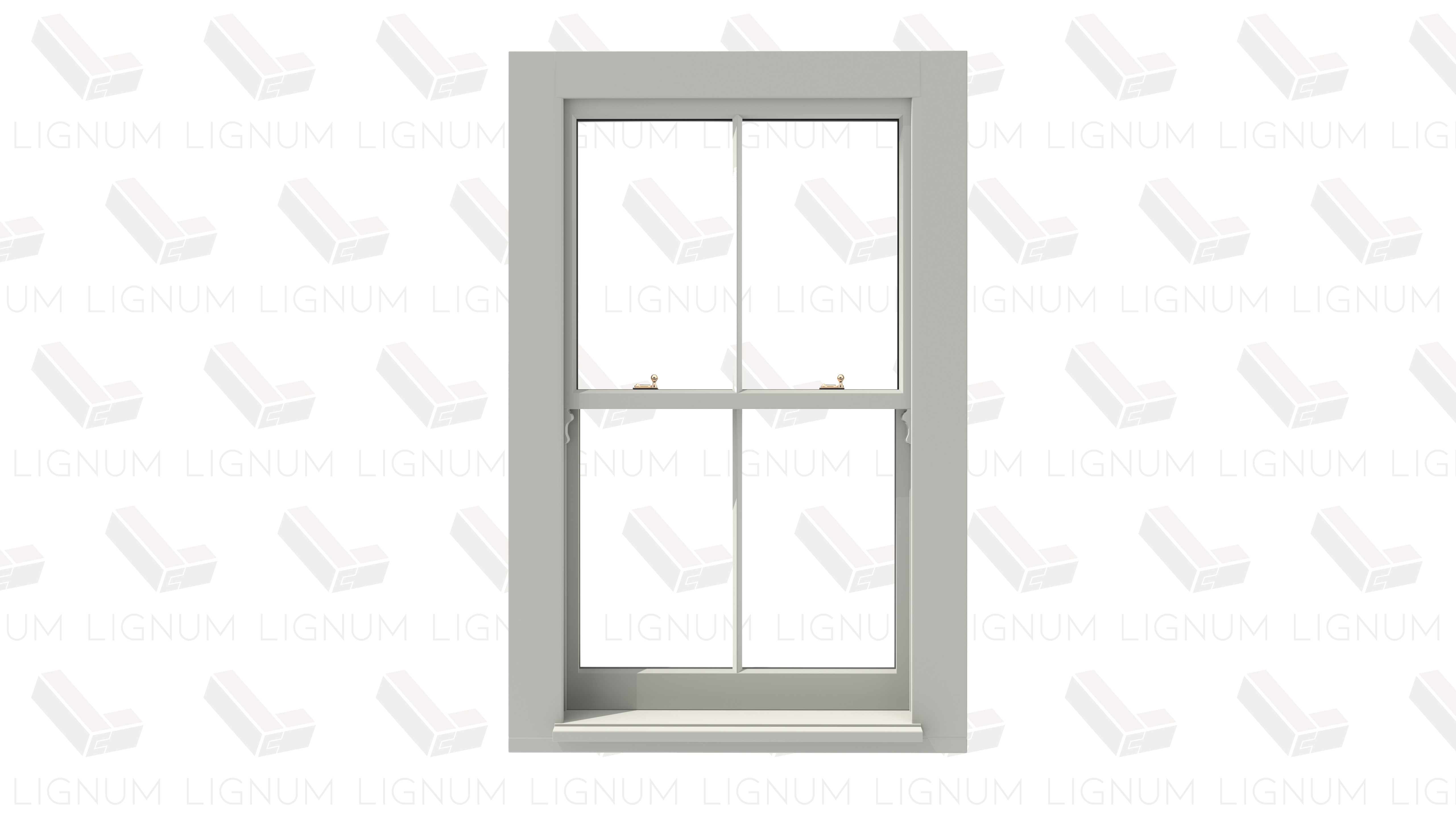 Timber box sash window