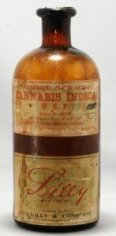 Cannabis tincture from the early 1900's.