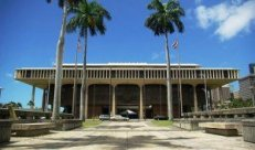 Hawaii's State Capitol.