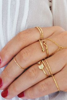 Dainty golf rings