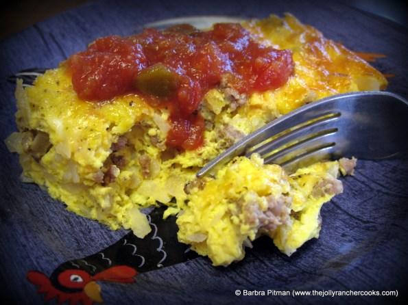 The Jolly Rancher's Breakfast Casserole