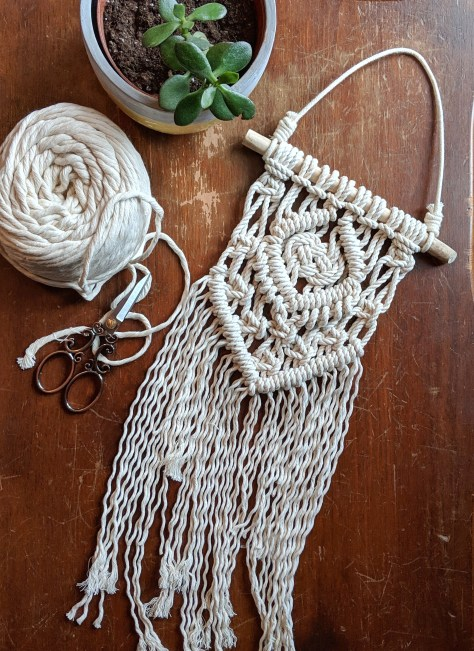 Beginner Macrame Must Haves Infinity Knot Macrame Wall Hanging