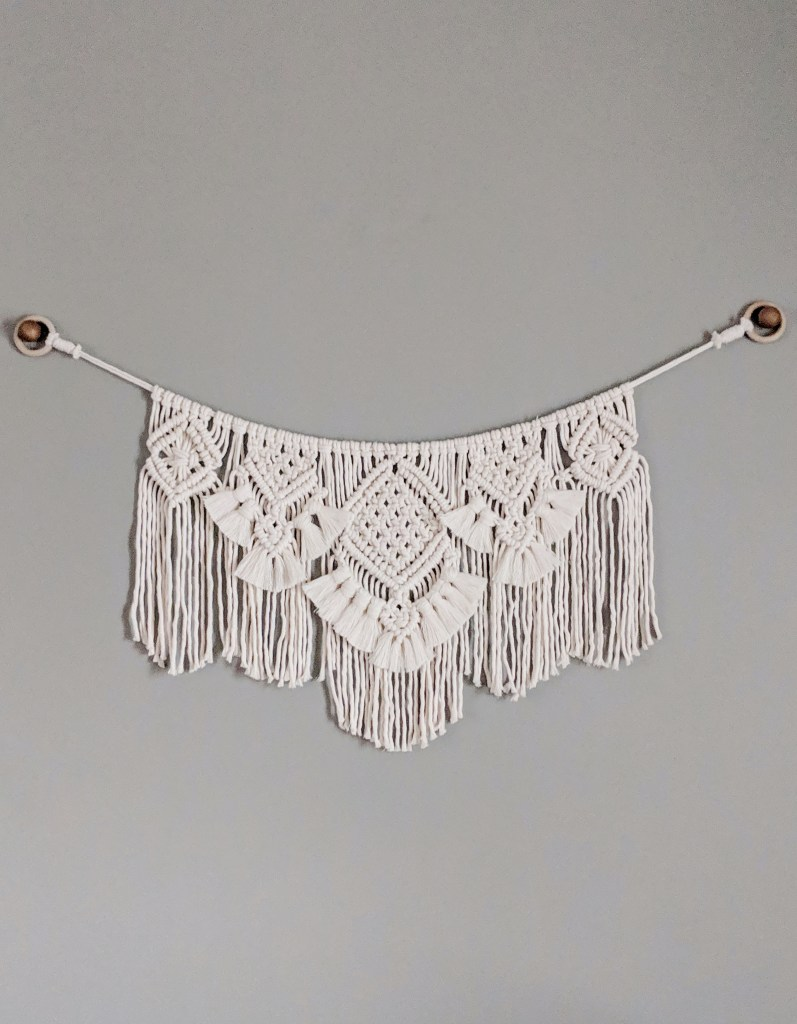 Beginner Macrame Must Haves Macrame Wall Hanging Macrame Banner