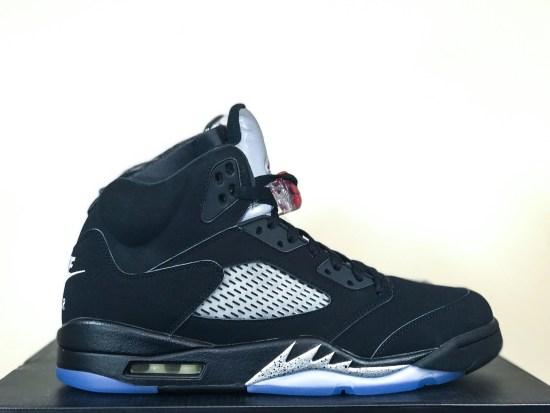 "Air Jordan 5 ""OG Black Metallic"""