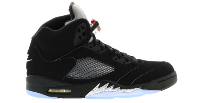 "Air Jordan 5 ""OG Black Metallic"""