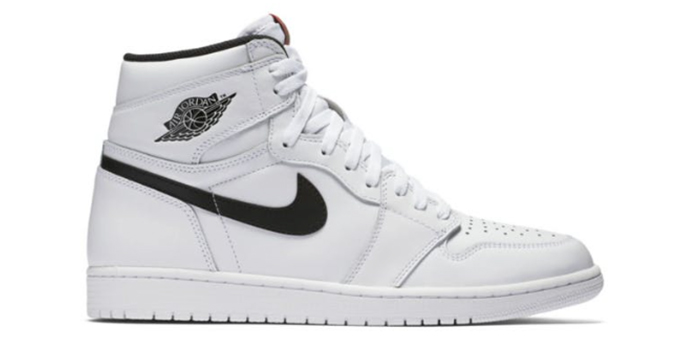 "Air Jordan Retro 1 OG High ""Yin Yang"" White"