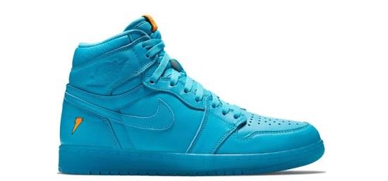 "Air Jordan Retro 1 High ""Gatorade Blue Lagoon"""