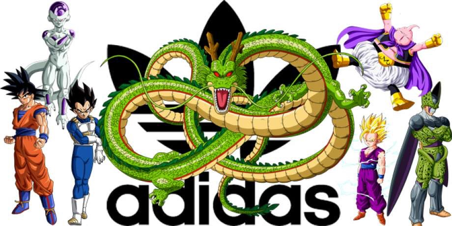 pretty nice e3cc4 9ca0f ... with the three stripes (Adidas) made some major waves in December 2017  when they announced a partnership with the legendary anime show, Dragon Ball  ...