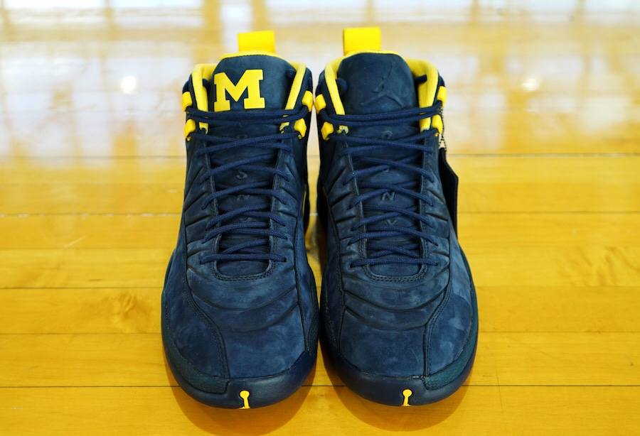 "cbe59860ed12 The PSNY x Air Jordan 12 ""Michigan"" Is Rumored To Release This ..."