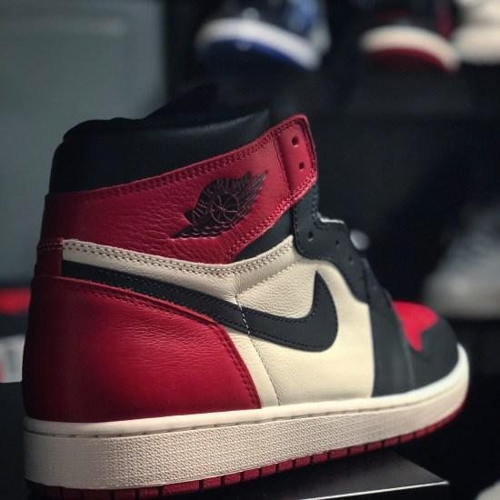 """Air Jordan Retro 1 High """"Bred Toe"""""""