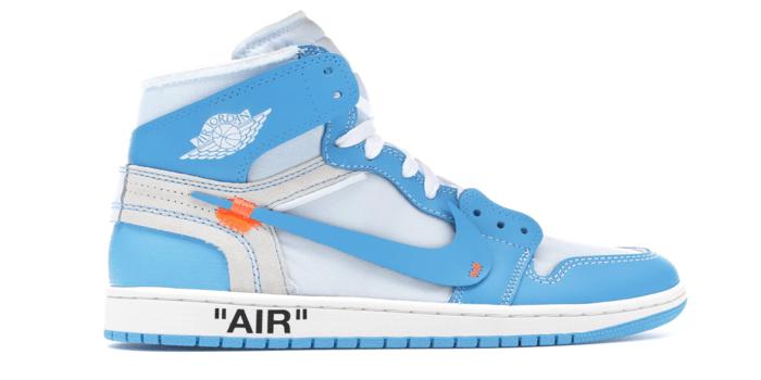 "sale retailer 61c8e 21c65 Air Jordan Retro 1 ""Off-White University Blue"" | The Jordan Rack"