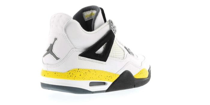 "c50dee597000 Air Jordan Retro 4 ""Tour Yellow Rare Air"" (2006)"
