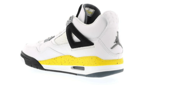 "Air Jordan Retro 4 ""Tour Yellow/Rare Air"" (2006)"