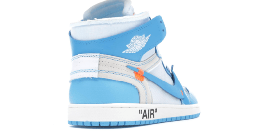 "Air Jordan Retro 1 ""Off-White University Blue"""