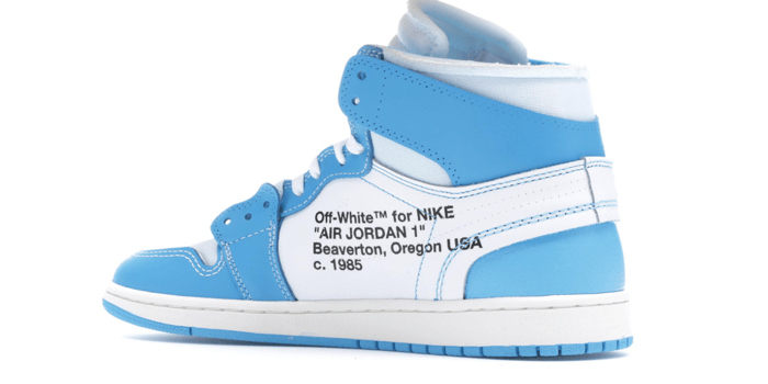 "new products 5bc1f fea32 Air Jordan Retro 1 ""Off-White University Blue"""