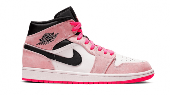 "Air Jordan Retro 1 Mid ""Crimson Tint"""