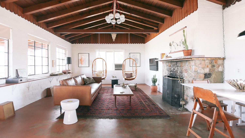 The Joshua Tree House Living Room