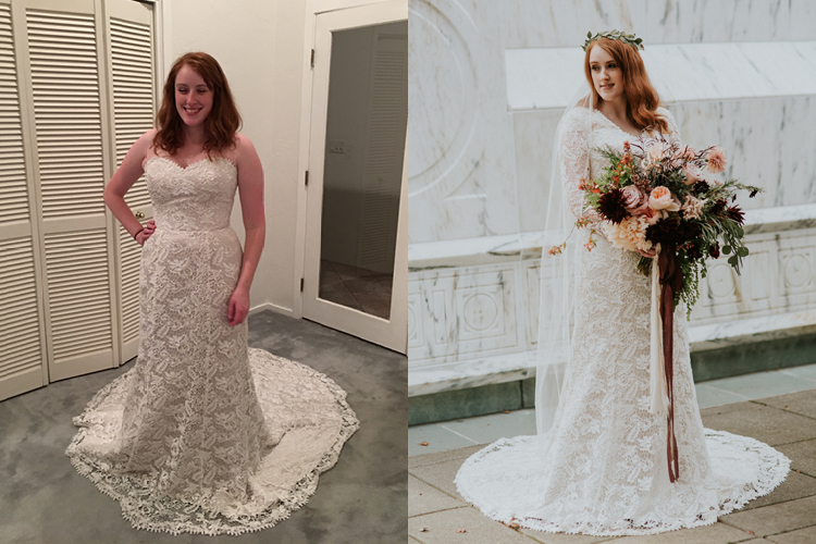 The story of my miracle wedding dress