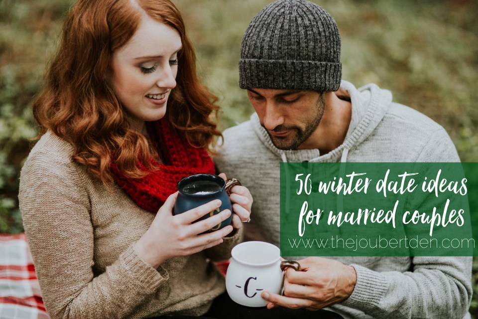 50 winter/Christmas date ideas for married couples