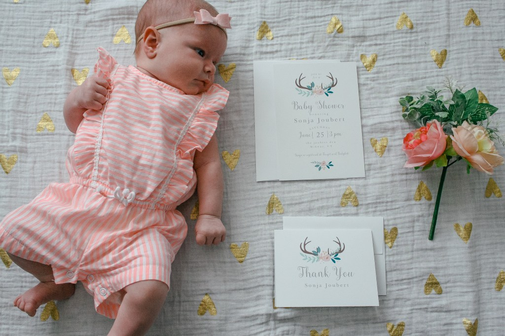 Basic Invite customize baby shower invitations