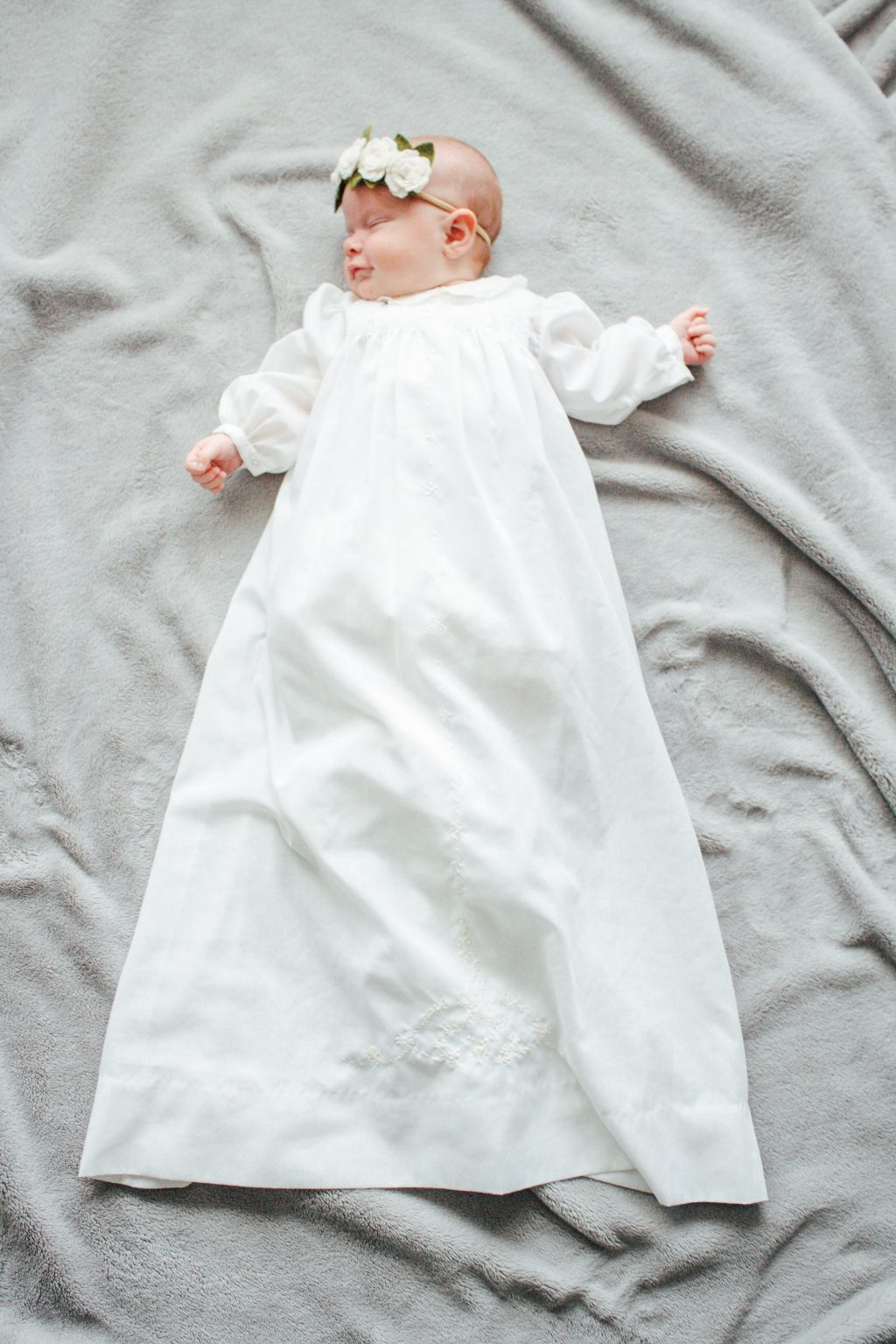long LDS baby blessing dress