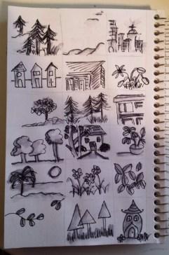 mini landscapes
