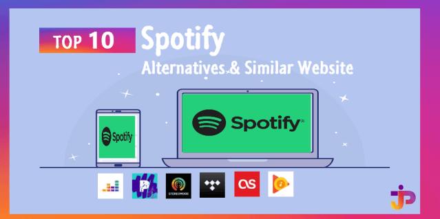 Spotify Web Player Alternatives