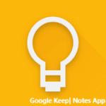 google keep notes app