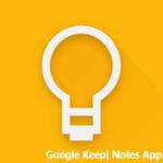 google keep notes app
