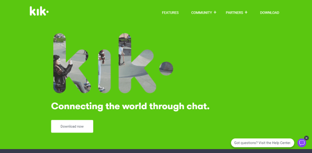 KiK Reviews and Pricing- Live video call platform