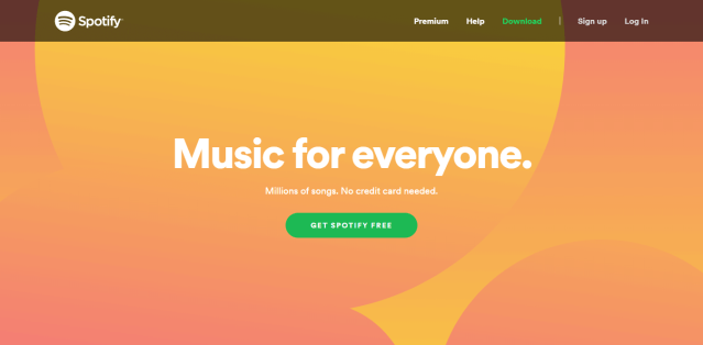 Spotify free   Online streaming service