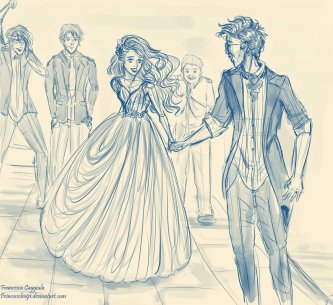 http://princesscleo91.deviantart.com/art/James-and-lily-s-wedding-2-338268988