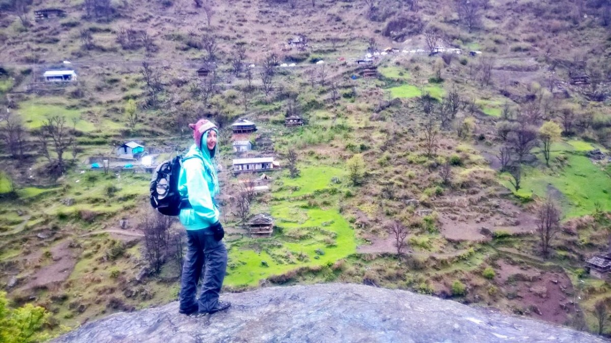 The view from the trek to Malana