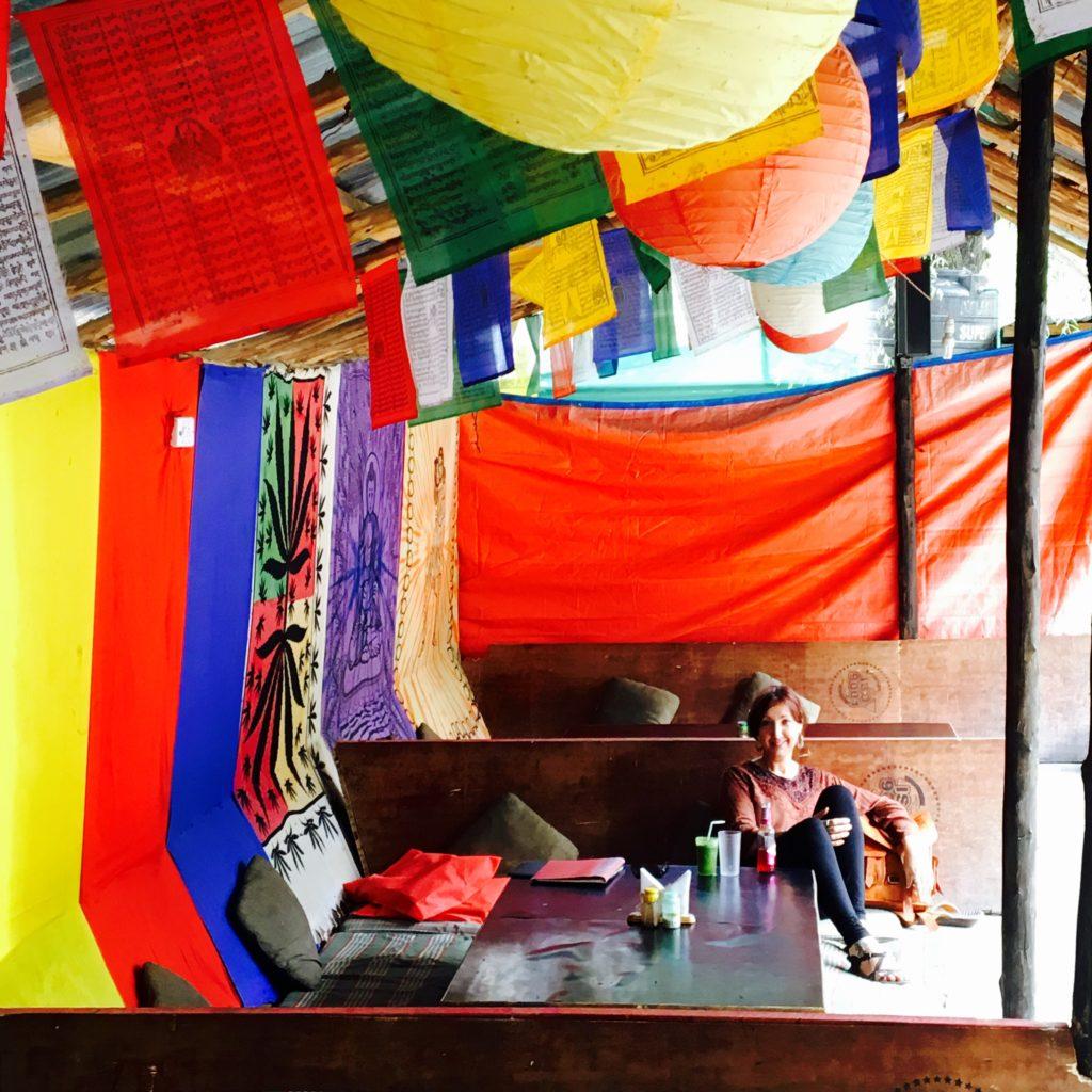 Sitting at dhaba in Manali